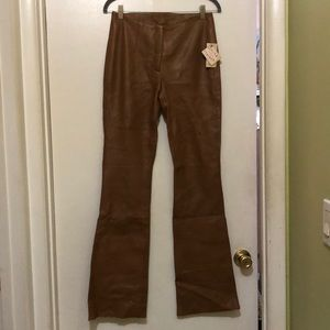 NWT Wilson's leather pants